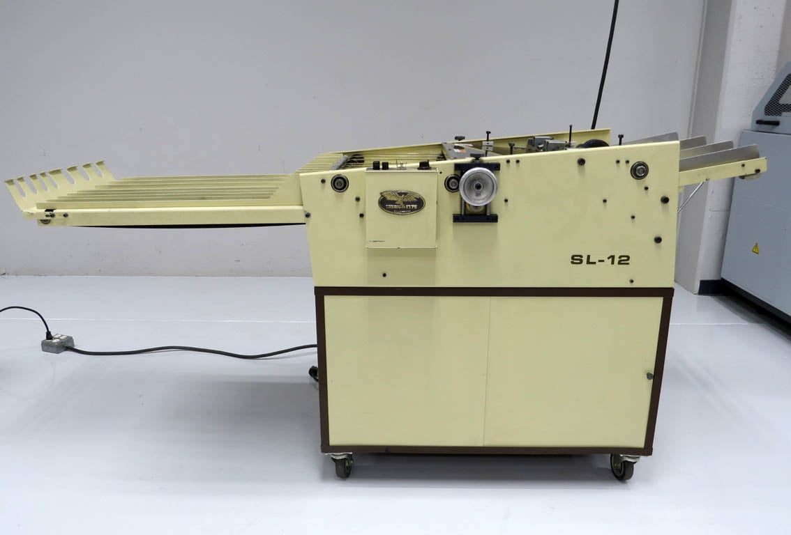 Therm-O-Type SL 12 Business Card Slitting Machine – Used Print ...